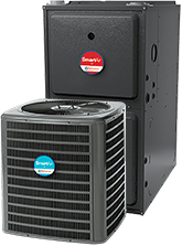 SmartAir 320 Furnace And Air Conditioner Bundle