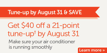 Get $40 off an air conditioner tune-up