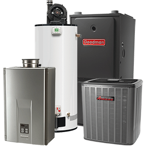 Furnaces, air conditioners and water heaters in North Bay