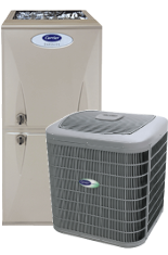 Carrier 5000 Furnace and Air Conditioner system